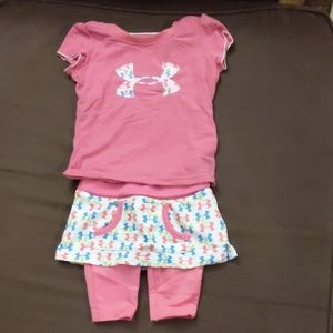 Infant Under Armour outfit 6/9 months NWOT